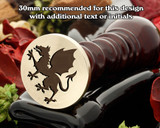 Dragon Wax Seal Stamp D1