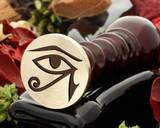 Eye of Ra 2 wax seal