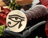 Eye of Ra 4 wax seal