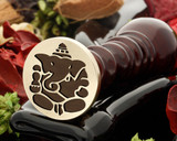 Ganesh D2 wax seal stamp