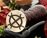 Wax Seal for Hindu God Vishnu