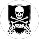 SKULLS PIRATE SHIELD 1