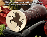 Mythical Unicorn D2 Wax Seal