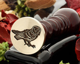 Owl 5 wax seal