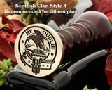 Graham Scottish Clan Wax Seal D4