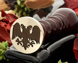 Crest Eagle 4 Wax Seal