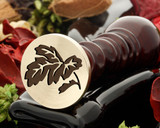 Leaf 5 wax seal
