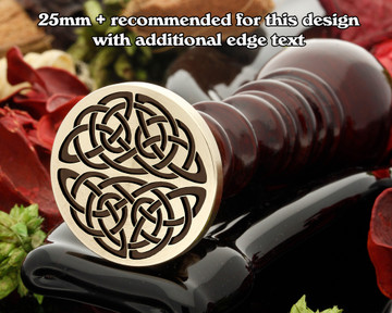 Celtic Wax Seal D10 design only