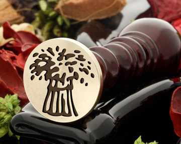 NFU Mutual Wax Seal Stamp from 25mm