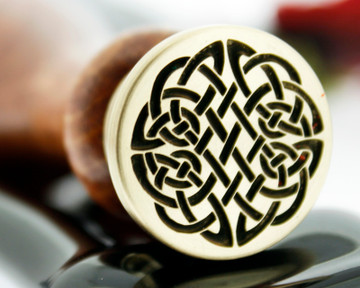 Celtic D14 Wax Seal Stamp from 25mm