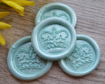 Royal Crown Peel and Stick wax sticks - colour Cool Mint Green