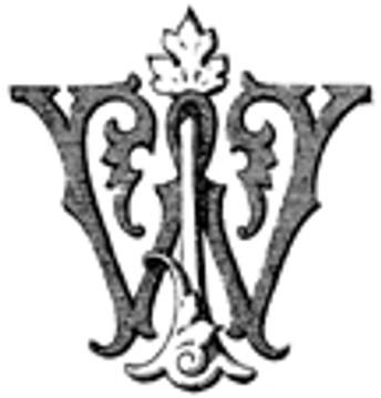 JW WJ VICTORIAN MONOGRAMS DESIGN 2