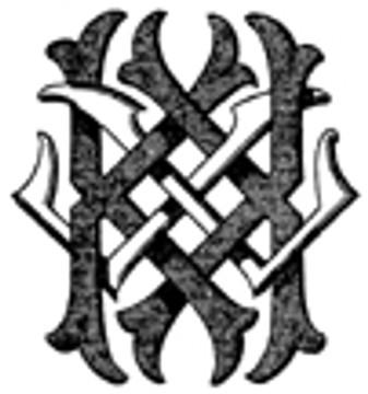 KL LK VICTORIAN MONOGRAMS DESIGN 3