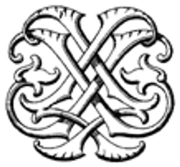 JL LJ VICTORIAN MONOGRAMS DESIGN 2