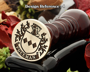 Freeman (England) Wax Seal Design  D4