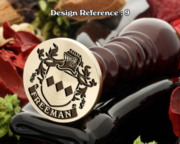 Freeman (England) Wax Seal Design D9