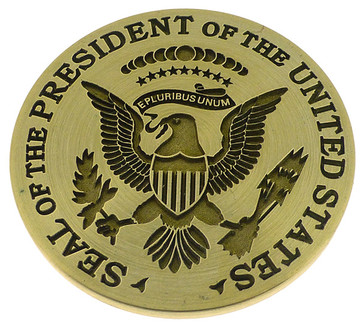 Seal of The President of The United States (35mm or 50mm), available for re-engraving.