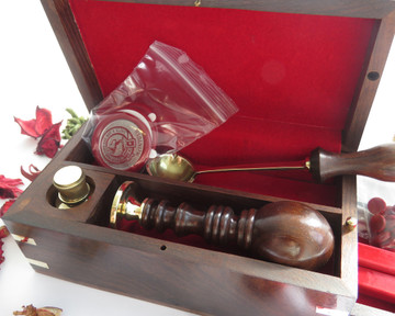 Deluxe Wax Seal Presentation Box