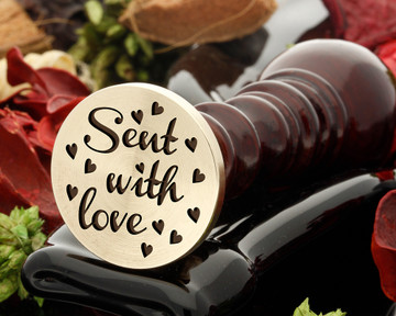 Sent with Love Wax Seal