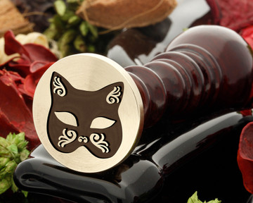 Cat Mask Wax Seal