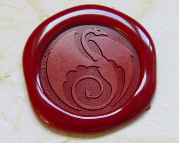 Dragon Peel n Stick wax seals  - All sealing wax colours available.
