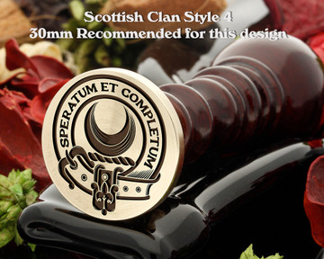 Arnott Scottish Clan Wax Seal Design 4