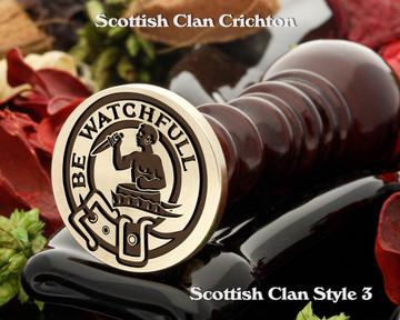 Darroch Scottish Clan Wax Seal, Cufflinks, Signet Rings D3
