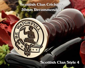 Darroch Scottish Clan Wax Seal, Cufflinks, Signet Rings D4
