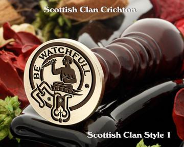 Darroch Scottish Clan Wax Seal, Cufflinks, Signet Rings D1