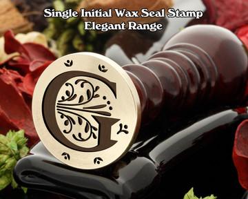 Elegant Range Wax Seal Initial G