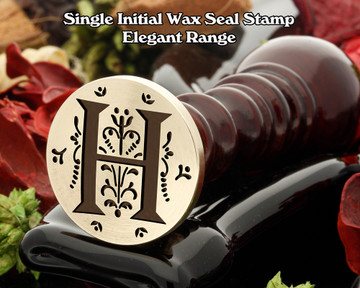 Elegant Range Wax Seal Initial H