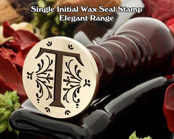 Elegant Range Wax Seal Initial T