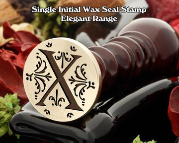 Elegant Range Wax Seal Initial X