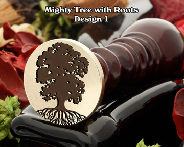 Mighty Oak Tree with Roots D1