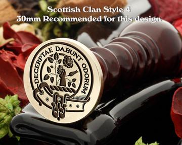 Aiton Scottish Clan Wax Seal D4