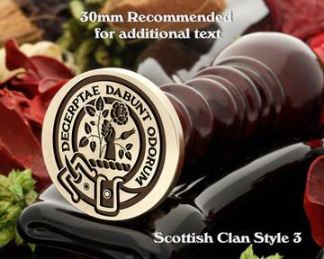 Aiton Scottish Clan Wax Seal D3
