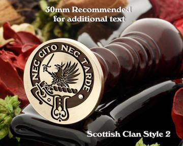 Bannatyne Scottish Clan Wax Seal D2