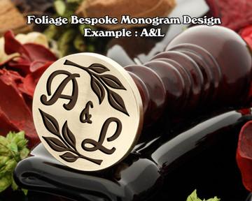 Foliage Monogram Example A&L