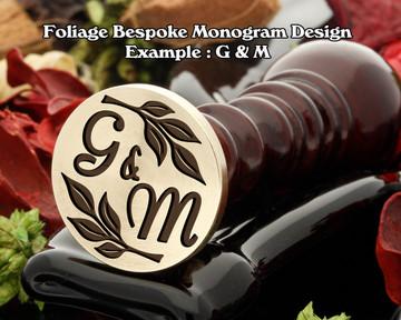 Foliage Monogram Example G&M