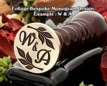 Foliage Monogram Example V&A