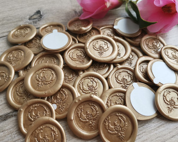 18ct Gold Pearl Metallic for peel and stick wax seal stickers