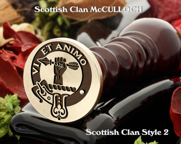 McCulloch Scottish Clan Wax Seal D2