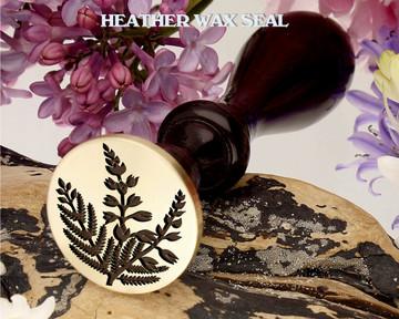 Heather D1 wax seal stamp
