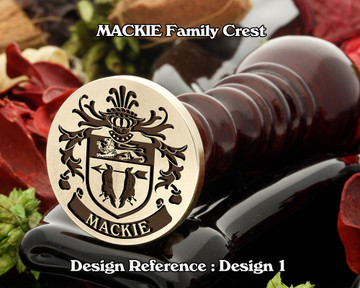 MACKIE Family Crest Wax Seal D1