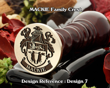 MACKIE Family Crest Wax Seal D7