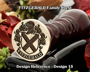 FITZGERALD Family Crest Wax Seal D15