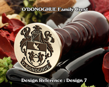 O'DONOGHUE Family Crest Wax Seal D7