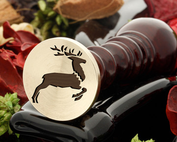 Deer 2 Wax Seal