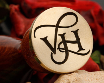 VH Wax Seal Monogram (photo reversed)