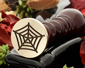 Halloween Spiders Web wax seal